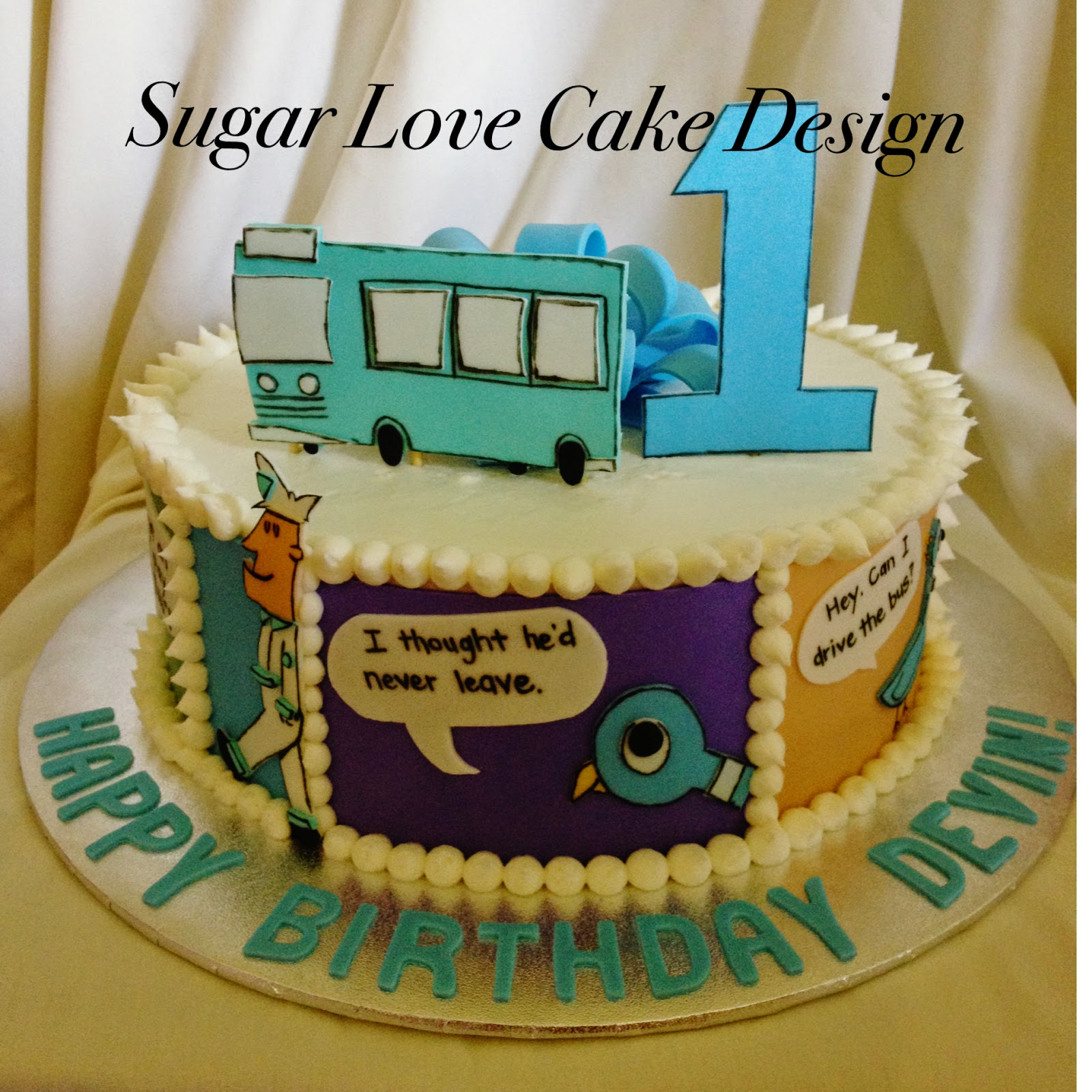 Sugar Love Cake Design: Birthday Cakes