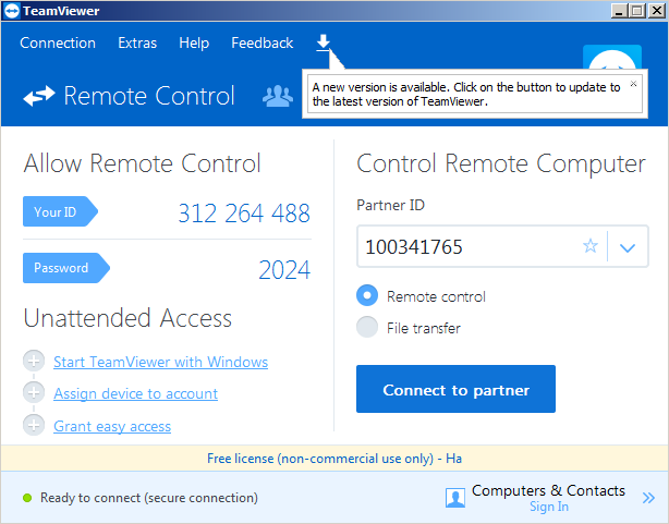 Tải Teamviewer 11 cho Windows Mới Nhất 5