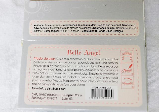 CÍLIOS POSTIÇOS BELLE ANGEL (MR-CL4)