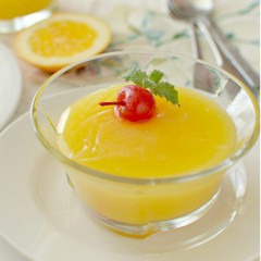 Receta para preparar manjar venezolano de naranja con maicena