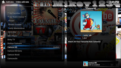 How To Download And Install Cartoon HD Addon For Kodi
