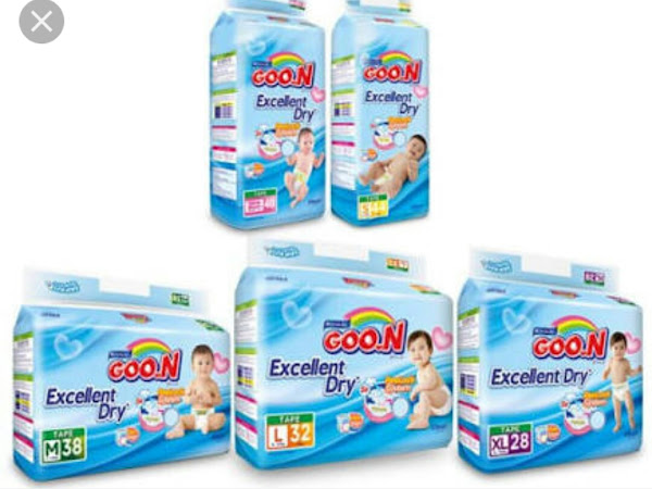 Review Diapers Goo.N Excellent Dry