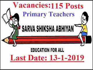 Directorate of Education Recruitment 2019