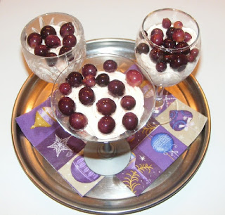 deserturi, dulciuri, crema de urda cu struguri, deserturi cu urda, preparate din urda, retete cu urda, retete culinare,