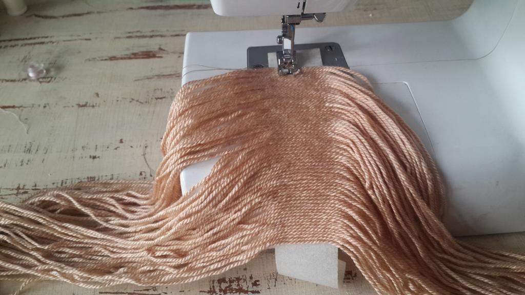 Amigurumi Bebekte Saç Yapımı : Bez bebek saçı yapımı zeynep harikalar diyarında