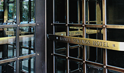 Banff Springs Hotel Fairmont Alberta