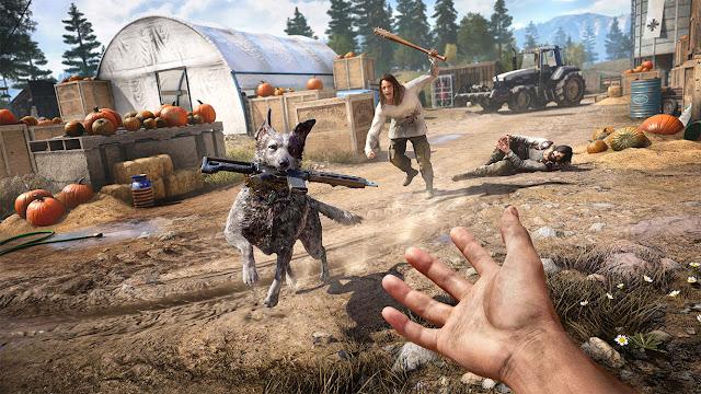 بالفيديو إستعراض مطول لأسلوب اللعب من إصدار Far Cry 5 و نظرة عن عالم اللعبة