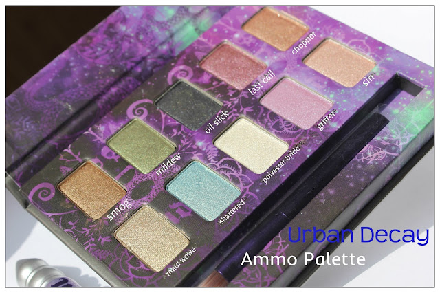 Review: Urban Decay Ammo 2 Palette