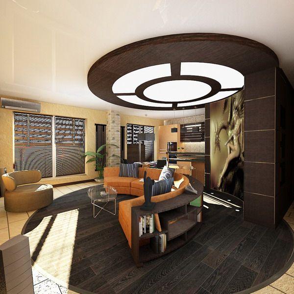 Ceiling Designs For Living Room: 75 Living Room Interior Design
