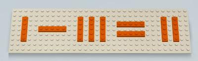 γρίφος LEGO ισότητα