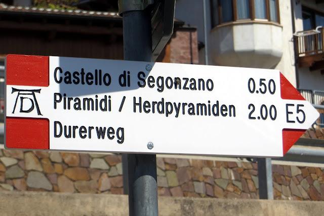 sentiero del Dürer escursione Val di Cembra