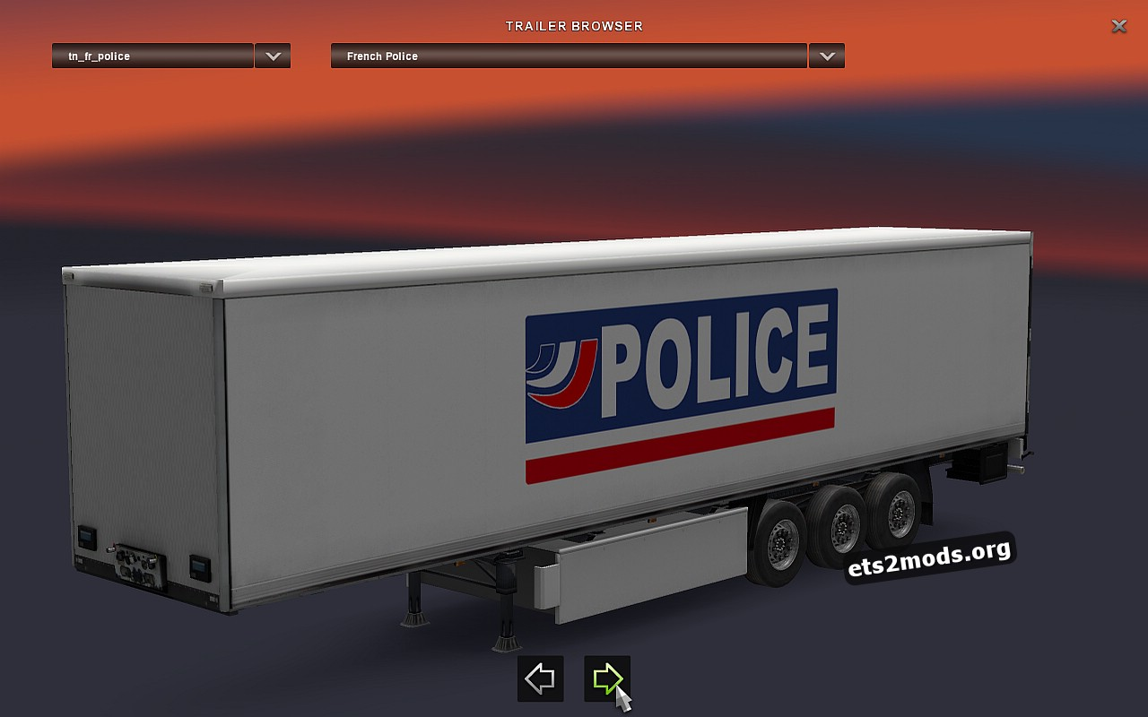 French POLICE Trailer