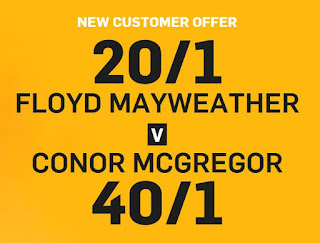 Mayweather vs McGregor Online Promotion Betfair