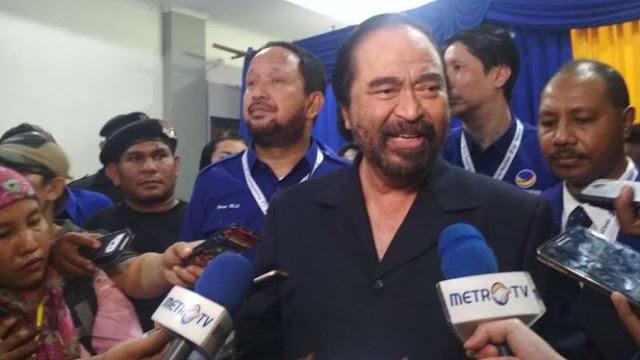 Surya Paloh: Tak Guna Nasdem Menang kalau Presiden Bukan Jokowi