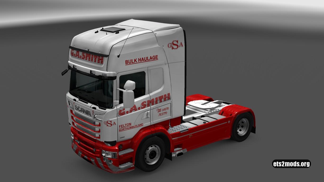 Scania RJL G.A. SMITH Skin