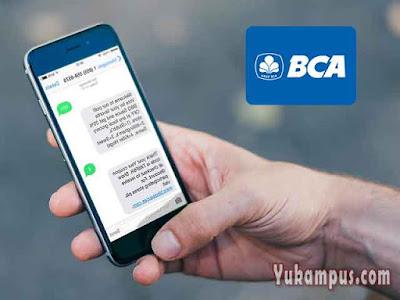 cara menggunakan sms banking bca
