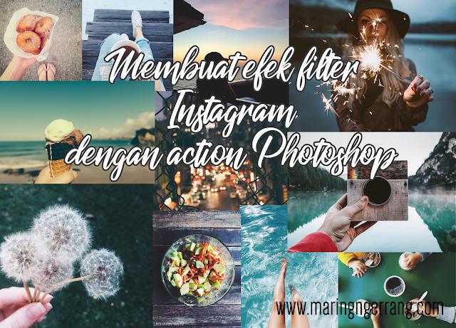 Membuat Efek Filter Instagram dengan Action Photoshop