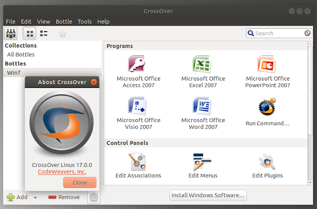CrossOver 17.0.0 for Linux [.deb / .rpm] Full Crack Free Download