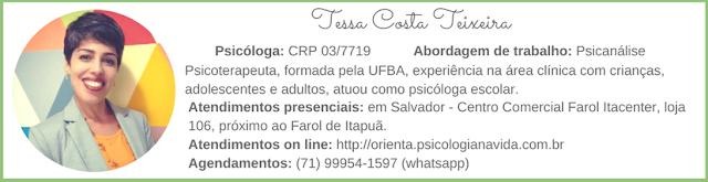 Psicóloga Tessa Costa