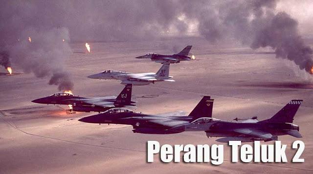 Foto pesawat Perang Teluk 2