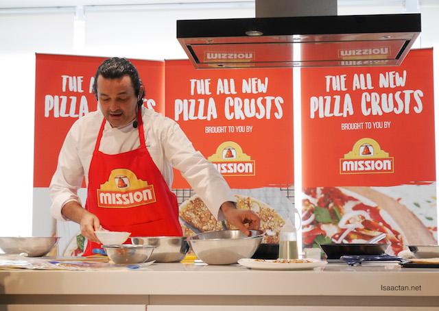 Chef Federico Michielleto, of Marble 8 and Marini's on 57 fame.