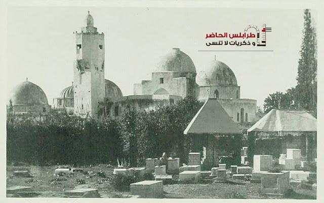 صورة لمسجد طينال منذ 100 عام تقريبا