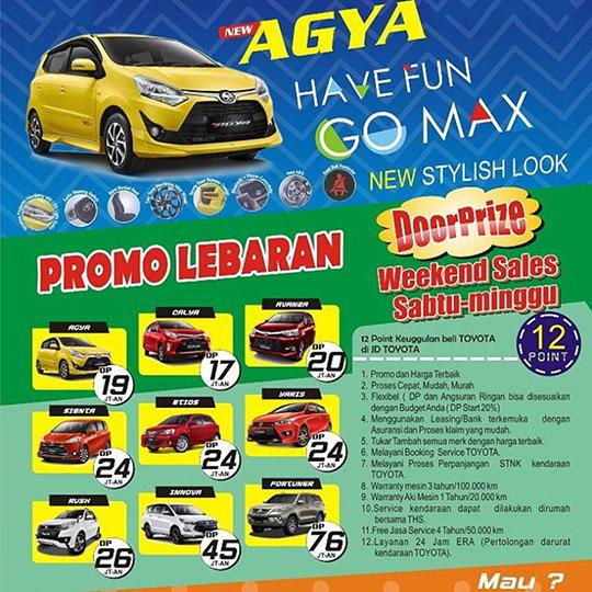 Promo Toyota Cibubur