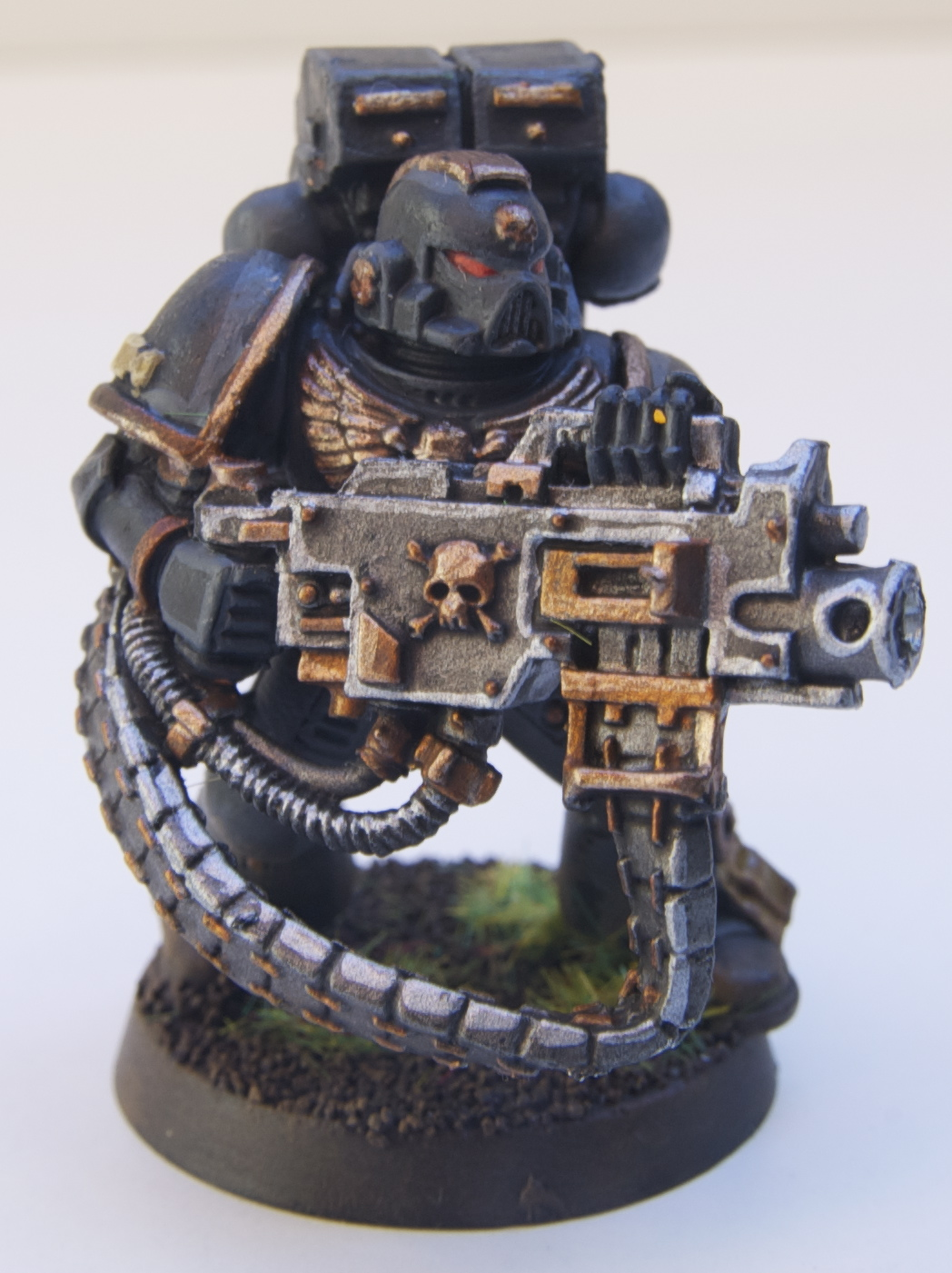 40k War Zone  Gallery  Krannon  Sm With Heavy Bolter And