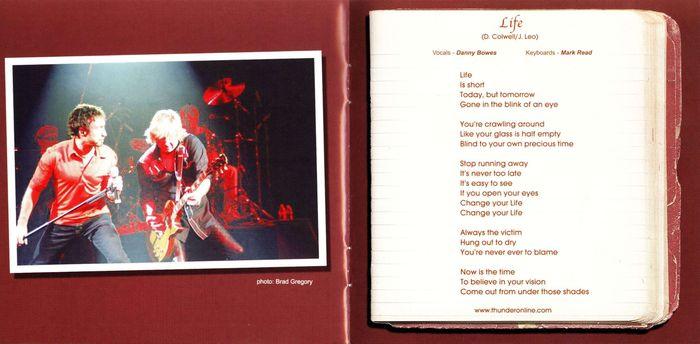 BUCKET & Co. - Guitars, Beers & Tears (retail) booklet