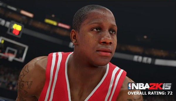 NBA 2K15 Isaiah Canaan Screenshot & Rating