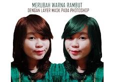 Cara Merubah Warna Rambut Dengan Hue/Saturation Pada Photoshop