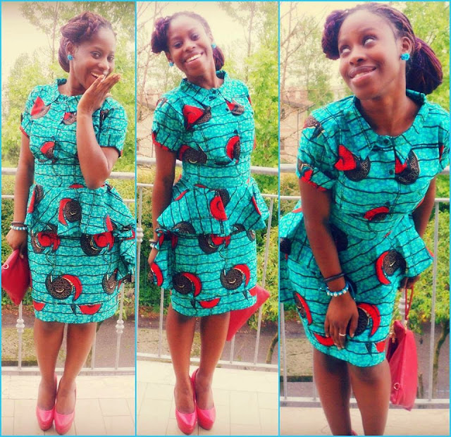 9e49e2d4421cac Stunning African Print Skirt & Blouse Styles. Fashion is architecture: it  is a matter of proportions. More,more and more after the cut