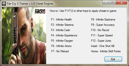 Far Cry 3 Cheats Pc