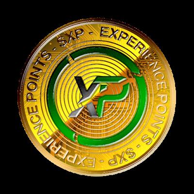 仮想通貨エックスピーのフリー素材(金貨ver)