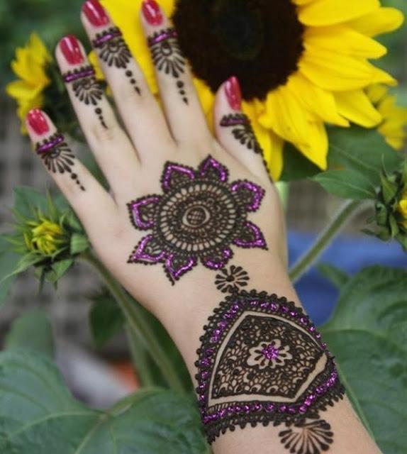 eid al fitr mehndi dizain image