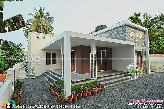 Furnished Single floor Kerala home design 1616 sq-ft