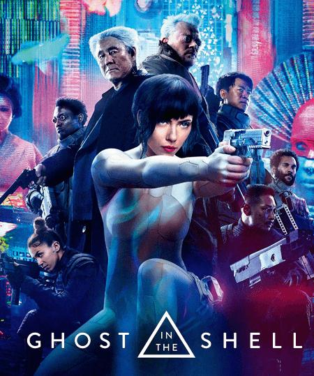 فيلم ghost in the shell 2017 مترجم