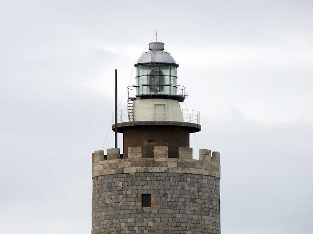 Fanale dei Pisani, lighthouse of port of Livorno