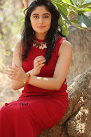 Telugu Actress Zahida Sam Latest Pos in Red Gown at RF Films New Movie Opening  0299.JPG