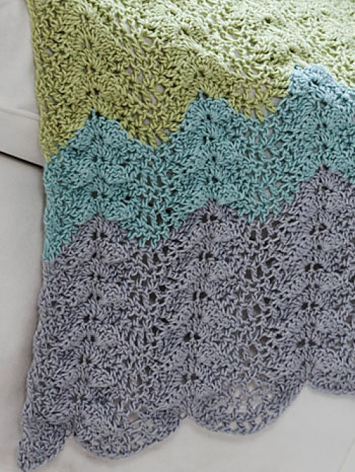 Antigua Throw - Free Pattern