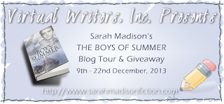 http://authoressentials.virtualwritersinc.com/2013/09/the-boys-of-summer-book-tour-with-sarah-madison/