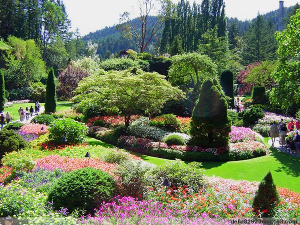 Mon Jardin Fleuri Beaux Jardins Fleuris En Chine