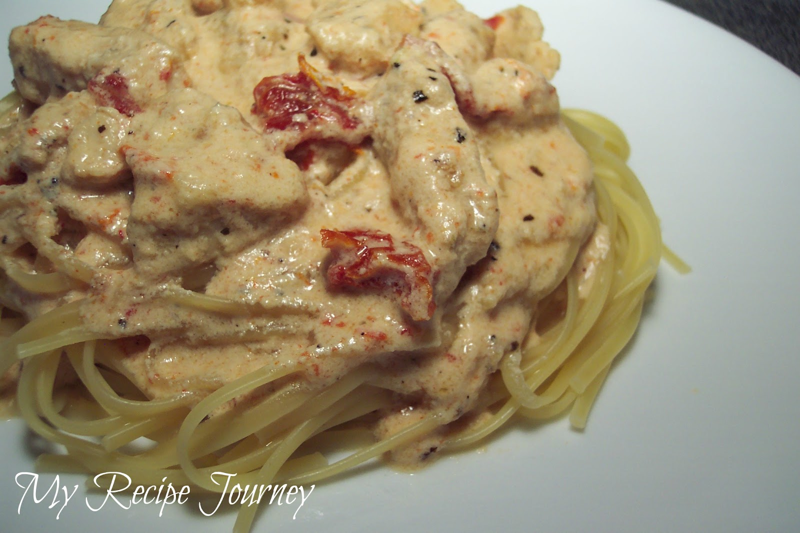 My Recipe Journey: Creamy Cajun Chicken Pasta