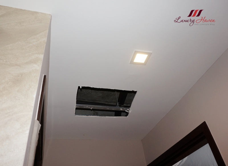 air connection condo aircon installation concealed piping