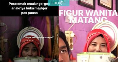Meme Ramayana 'Ibu Dalam Magic Jar' Ini Bikin Ketawa Pake Qolqolah
