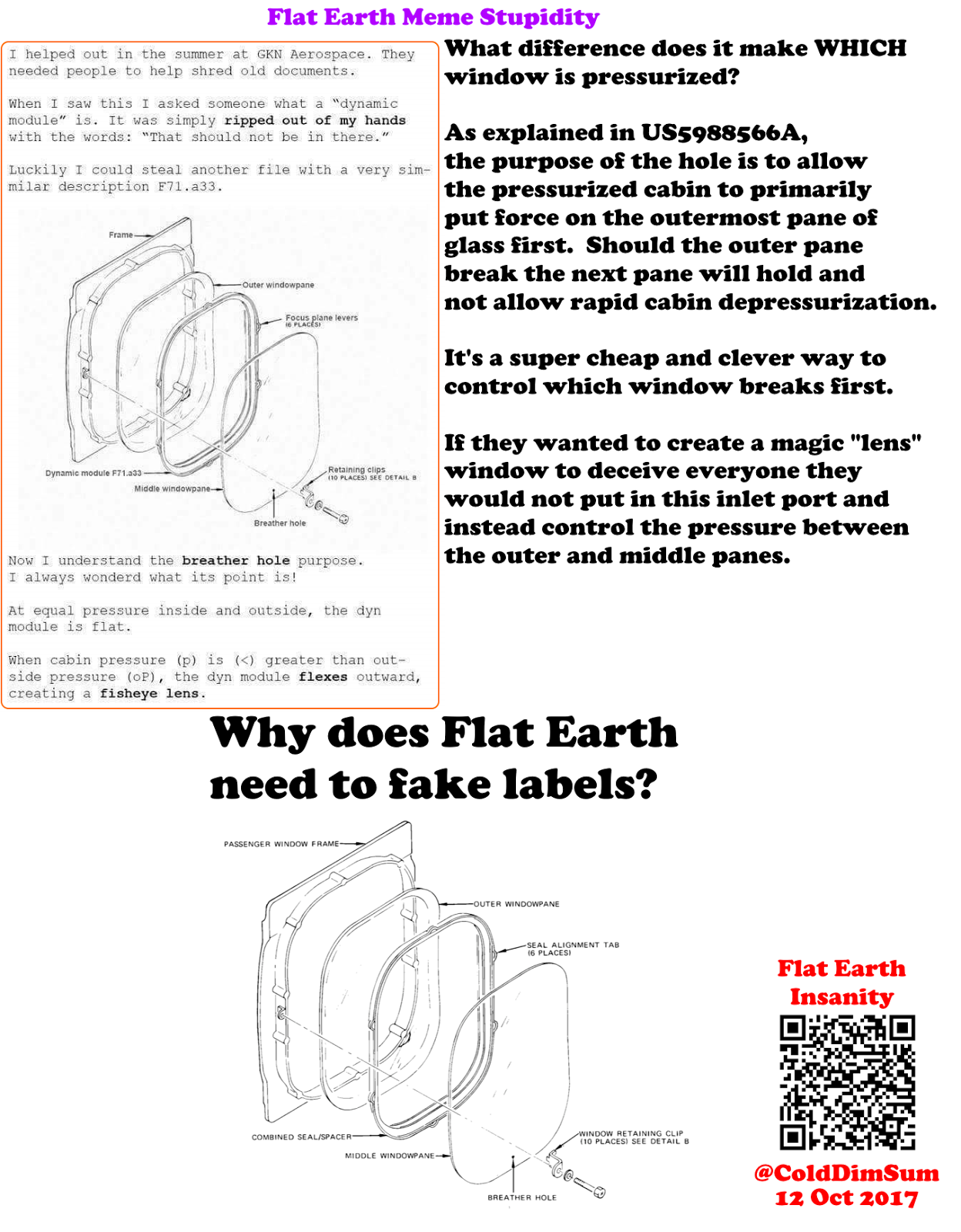 flat earth insanity  flat earth follies  magic fish