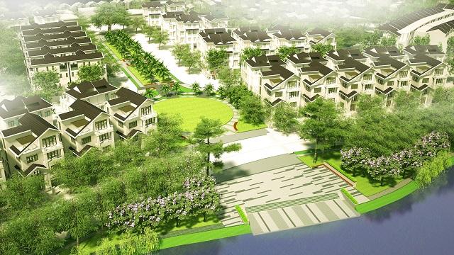 Thiết kế Bách Việt Lake Garden Bắc Giang
