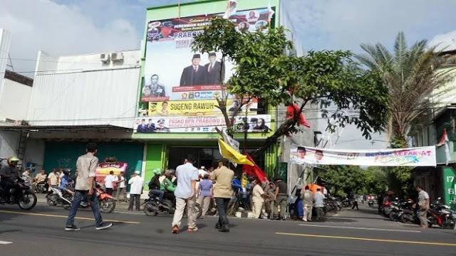 Ini Alasan Pendirian Posko Prabowo Dekat Rumah Jokowi