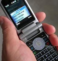 Antiguo teléfono móvil