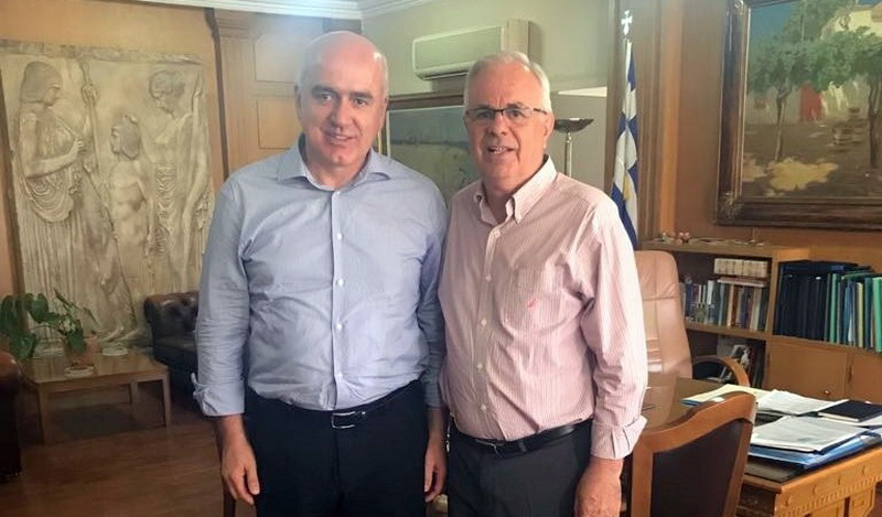 Συναντήσεις Μέτιου στην Αθήνα με Αποστόλου και Φάμελλο